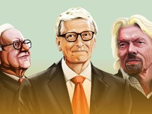 3 Crazy Rich Dunia Ini Ukur Sukses Bukan dari Jumlah Uang