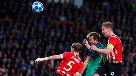 Tottenham Ditahan Imbang PSV 1-1 di Babak Pertama