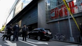 Terima Paket Mencurigakan, Kantor CNN Kembali Dievakuasi