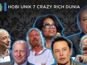 Hobi Unik 7 Crazy Rich Dunia