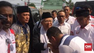 Ma'ruf Amin Bantah Sebar Hoaks Soal Peluncuran Mobil Esemka
