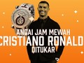 INFOGRAFIS: Andai Jam Mewah Cristiano Ronaldo Ditukar