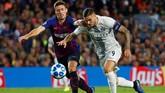 Barcelona menjamu Inter Milan di Camp Nou dalam lanjutan Liga Champions 2018/2019. (REUTERS/Juan Medina)