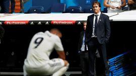 Karier Apes Julen Lopetegui di Real Madrid