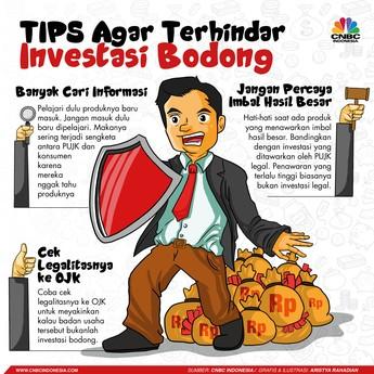 Simak 3 Tips Hindari Investasi Bodong dari OJK