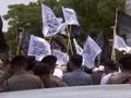 VIDEO: Ada Tuntutan Bubarkan Banser di Aksi Bela Tauhid