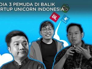 3 Pemuda Di Balik Startup Unicorn Indonesia