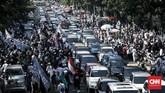 Sementara polisi menyatakan pembakar bendera di Garut, Jawa Barat tidak bisa diproses hukum karena tak memenuhi unsur pidana. (CNNIndonesia/Safir Makki)