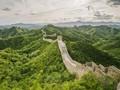 Turis Semakin Nekat Panjat Tembok Besar China