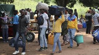Pasar Ilegal Sengsarakan Ekonomi Angola