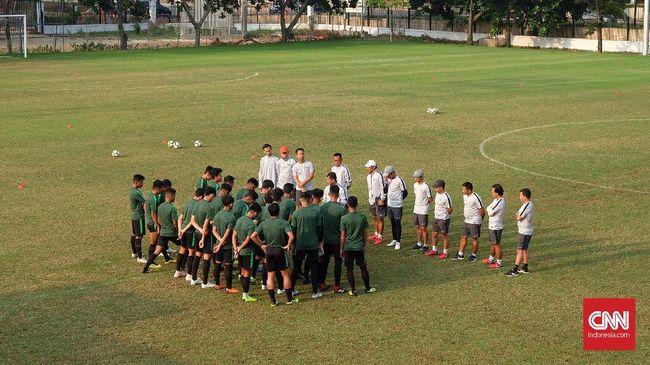 Timnas Indonesia U-19 Latihan Pagi Bukan Hindari Media Jepang
