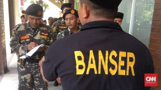 Ratusan Ribu Banser Peringati Maulid Nabi Bareng Jokowi