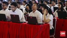 'Passing Grade' CPNS Turun, Nilai Wawasan Kebangsaan Jadi 65