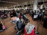 Karyawan Bandara Mogok, Ribuan Penumpang Telantar