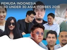 Bangga! 7 Pemuda RI Masuk Daftar '30 Under 30 Asia' Forbes