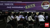 Tes akan digelar hingga 17 November. Uji kompetesi dasar iniakan dilakukan di 269 titik lokasi tes di 34 provinsi. (CNNIndonesia/Adhi Wicaksono)