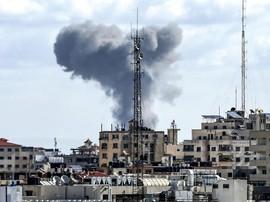 Israel Terus Bombardir Gaza, Stasiun TV milik Hamas Hancur