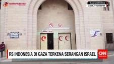 Rumah Sakit Indonesia di Gaza Terkena Serangan Israel