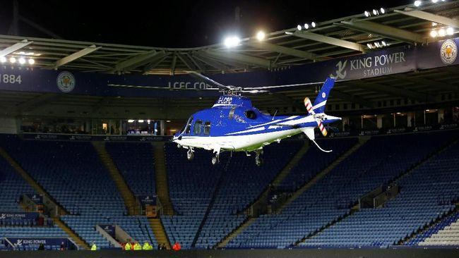 Saksi: Mesin Helikopter Pemilik Leicester Mati Sebelum Jatuh