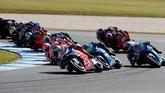 Balapan MotoGP Australia 2018 di Sirkuit Phillip Island berlangsung menarik. Pebalap tuan rumah Jack Miller sempat memimpin jalannya balapan. (REUTERS/Brandon Malone)