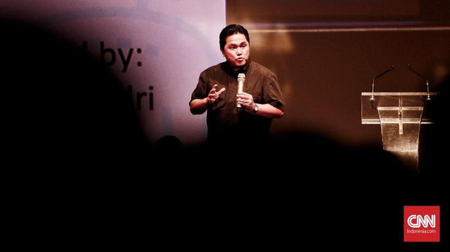 Menteri Erick Thohir Kenang Proyek Ancol Ala Ciputra