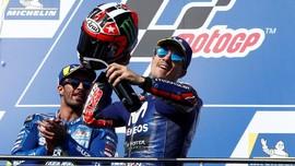 Vinales Siap Singkirkan Rossi dari Peringkat Tiga MotoGP 2018