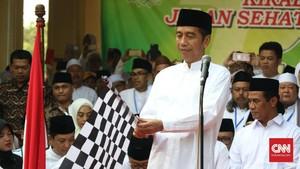 Kunker di Jawa Timur, Jokowi Temui Kader Muhammadiyah