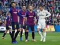 Pique Minta Suporter Barcelona Berhenti Ejek Sergio Ramos