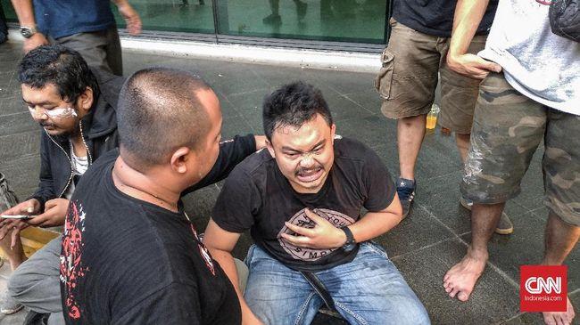 Mitra Grab: 7 Orang Terluka karena Pukulan dan Peluru Karet