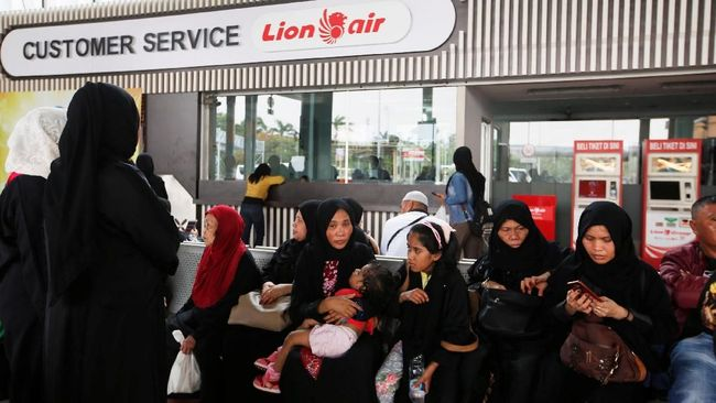 Perwakilan Keluarga Korban Lion Air Diberangkatkan ke Jakarta