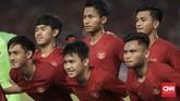 Timnas Indonesia U-19 tampil di babak perempat final Piala Asia U-19 untuk kali pertama setelah tahun 1978. (CNN Indonesia/ Hesti Rika)