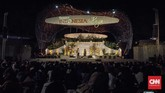 Pagelaran teater rakyat 'Misteri Sang Pangeran' menjadi pementasan perdana di Panggung Budaya Taman Indonesia Kaya, Semarang, Jawa Tengah pada akhir pekan kemarin, dua minggu setelah diresmikan.