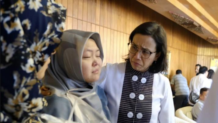 Terdapat 20 pegawai Kementerian Keuangan yang terdiri dari Ditjen Pajak, Ditjen Perbendaharaan Negara berangkat dari Jakarta.