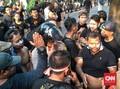 Demonstran Grab 'Sweeping' Pengemudi di Lokasi Demo