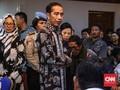 Jokowi Gelar Rapat Terbatas di Tenda Posko Evakuasi Lion Air