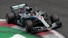 Hamilton Tercepat di FP2 GP Monako