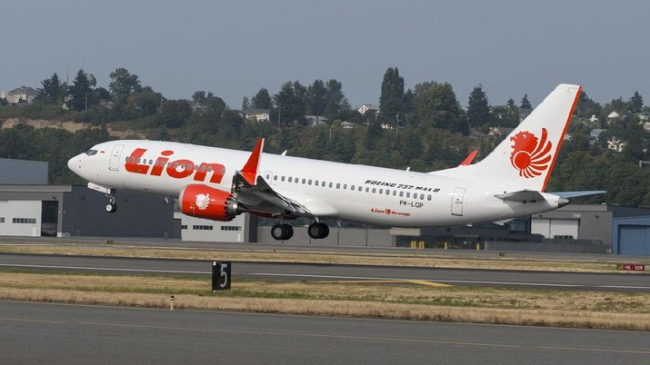 Ada indikasi pesawat jenis Boeing 737 Max 8 tersebut tidak bisa lanjut terbang. Pesawat ini baru berumur dua bulan.