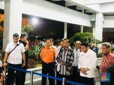 Jokowi Minta Basarnas Cs Kerja 24 Jam Cari Bodi Lion Air
