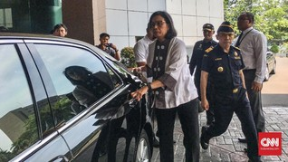 Pegawai Jadi Korban Lion Air, Sri Mulyani Sambangi Basarnas