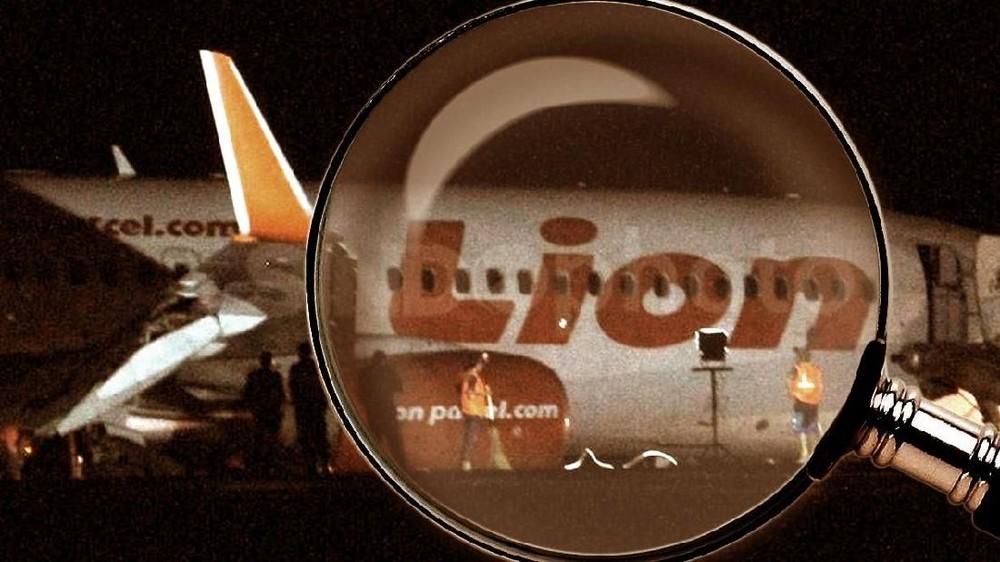 Pesawat Lion Air JT-610 Tujuan Pangkal Pinang Jatuh