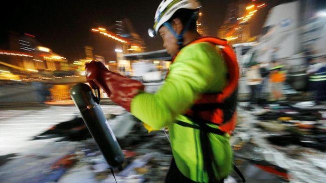Temuan Bertambah, 28 Kantong Jenazah Dievakuasi Tim SAR