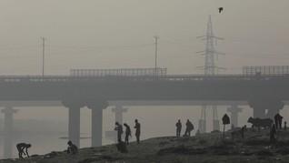 India Diselimuti Kabut Beracun Usai Perayaan Diwali