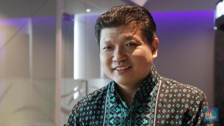 Presiden Direktur Sritex Iwan Lukminto (CNBC Indonesia/Muhammad Sabki)