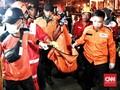 Hari Ketiga, Total 56 Kantong Jenazah Dikirim ke RS Polri