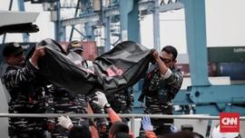 Tim DVI Sudah Terima 73 Kantong Jenazah Korban Lion Air
