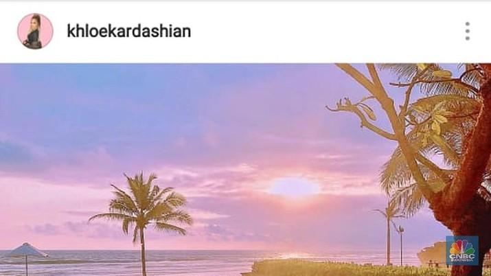 keluarga Kardashian habiskan liburan akhir pekan di Bali pekan lalu