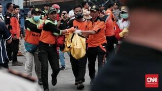 Tenda Posko Krisis Lion Air di Bandara Pangkalpinang Roboh