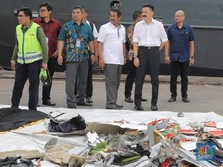 Pemilik Lion Air Lihat Langsung Kepingan Pesawat Miliknya