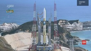 VIDEO: Satelit Pertama Buatan UEA Diluncurkan di Jepang