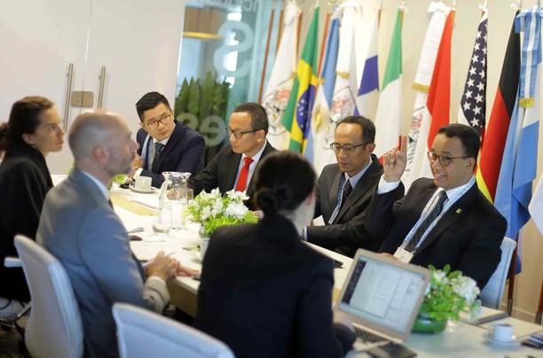 Saat Gubernur Anies Ikut Urban 20 Global Summit di Argentina